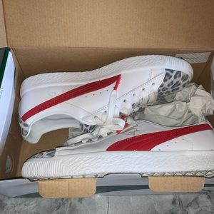 Puma Shoes - NWT PUMA Clyde leopard sneakers